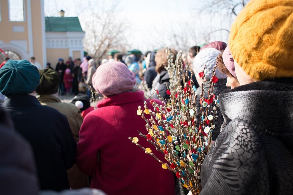 Вербное Воскресенье-2017 в Томске