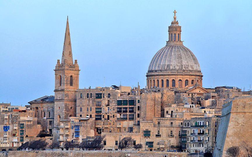 ?На восстановление единственного англиканского собора на Мальте потребуется 3 млн евро