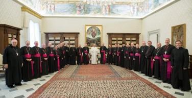 Украинские греко-католические епископы Канады — о встрече с Папой Франциском в рамках визита ad limina