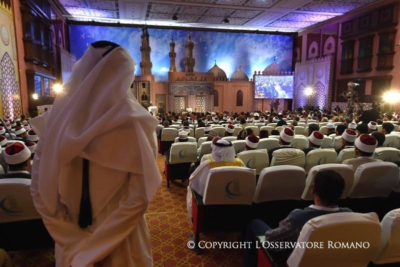 Папа в университете Аль-Азхар: мы призваны вместе строить мир