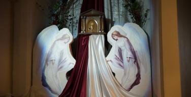 Богослужения Великого Четверга в приходах Преображенской епархии (ФОТО)