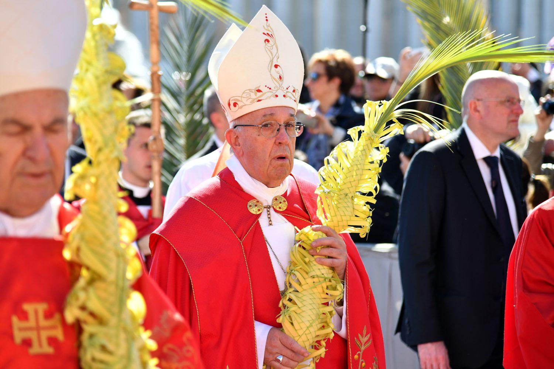Проповедь Папы Франциска на Вербное воскресенье. Площадь Св. Петра, 9 апреля 2017 г.