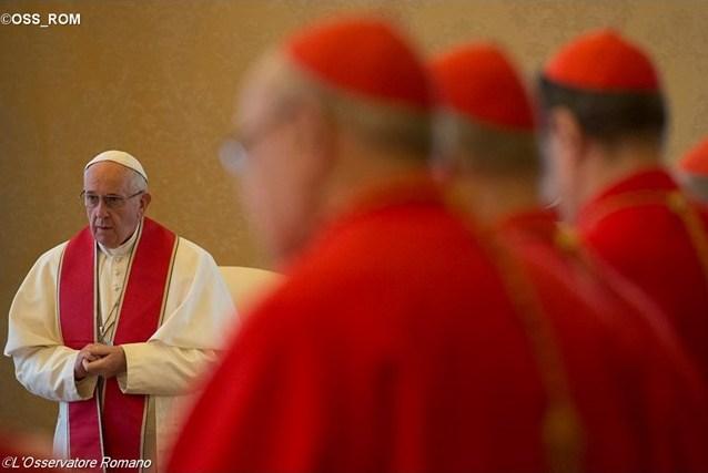 Папа Франциск созывает консисторию по делам канонизации 37 новых святых Вселенской Церкви