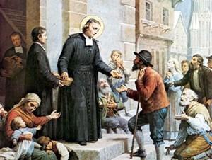 Жан-Батист де ла Салль с низами общества