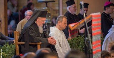 Патриарх Варфоломей посетил общину Тэзе