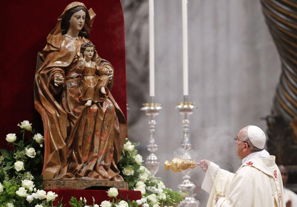 Пресвятая Богородица учит нас добродетели ожидания. Общая аудиенция 10 мая