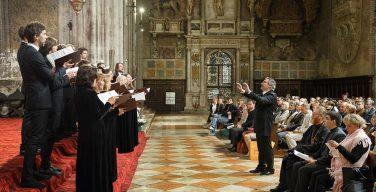 Московский синодальный хор выступил на Марковых торжествах в Венеции