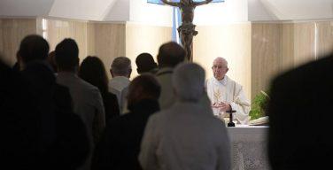 Папа: мир Иисуса реален, это не наркоз мира сего