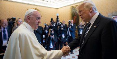 Государственный визит президента США в Ватикан: лучшие моменты римского дня Дональда Трампа