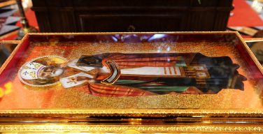 «Нынешнее прибытие мощей св. Николая в Москву – возможность видеть друг в друге трагически разделенных, но родных братьев»
