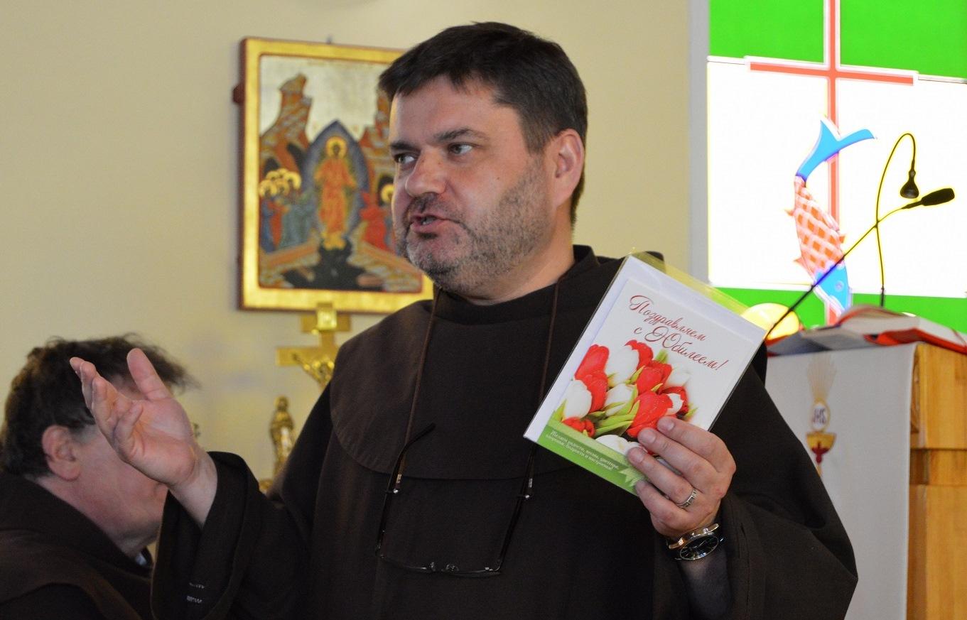 Отец Грациан Пиотровски, OFM, завершил своё служение в Преображенской епархии