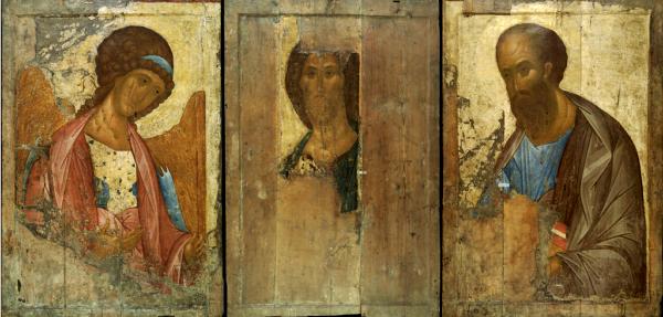 Реставраторы установили, что иконы «Звенигородского чина» создал не Андрей Рублев