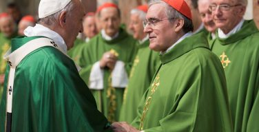 Папа Франциск отметил 25-летие своей епископской хиротонии (ФОТО)
