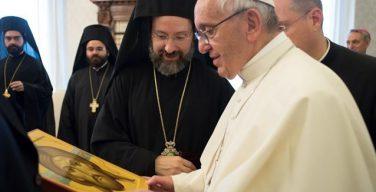 Папа — делегации Константинопольского Патриархата: на пути к единству в разнообразии