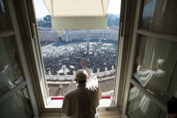 Слово Папы Франциска перед молитвой «Angelus» в торжество Пресвятой Троицы. Площадь Св. Петра, 11 июня 2017 г.