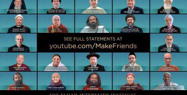 Лидеры крупнейших мировых религий призвали заводить друзей и видеть образ Божий в каждом
