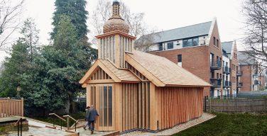 Белорусский греко-католический храм в Лондоне получил престижную архитектурную премию
