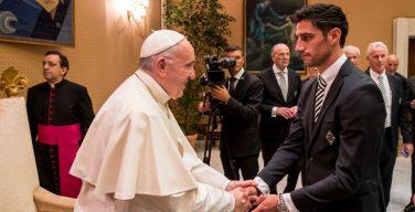 Папа — футболистам «Боруссии»: будьте спортсменами мира