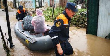 Объявлен сбор помощи для пострадавших от наводнения в Приморье