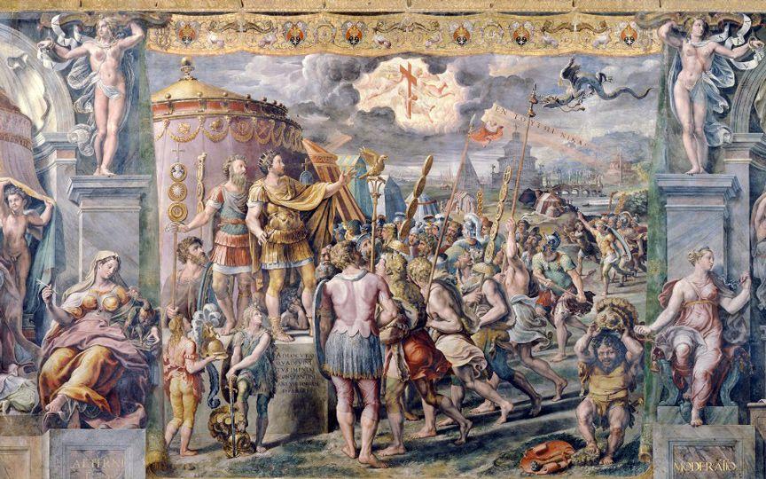 Две неизвестные фрески Рафаэля обнаружены в Ватикане