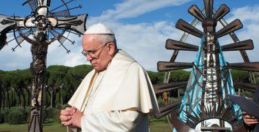 Папа Франциск выступил гидом по Музеям Ватикана