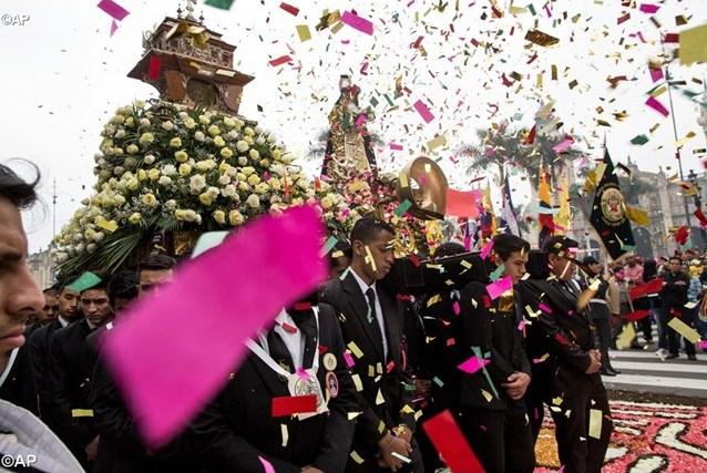 Послание Папы на завершение юбилея святой Розы Лимской