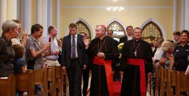 Кардинал Пьетро Паролин: «Быть здесь – это большая радость»