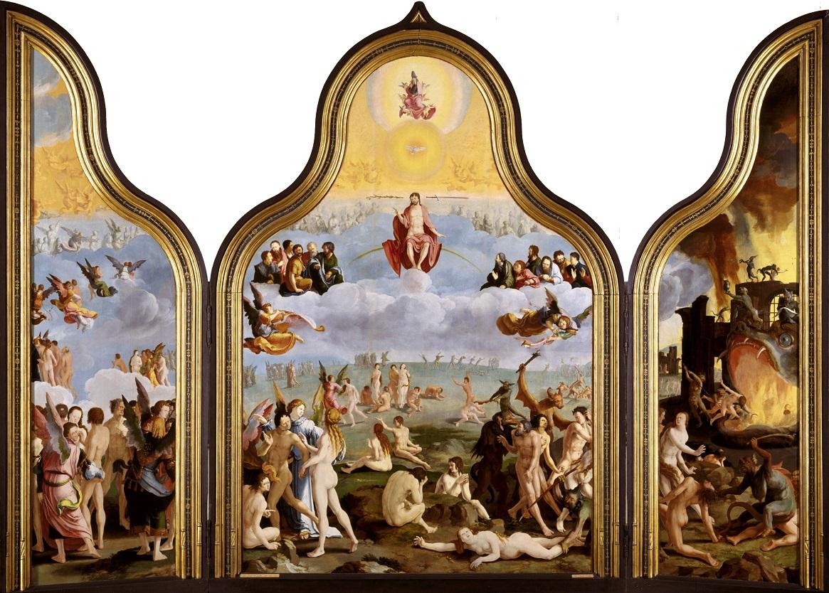 В амстердамском Рийксмузеуме экспонируется алтарь «Страшный Суд» Луки Лейденского