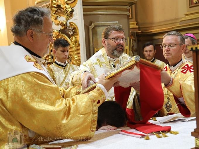 Во Львове состоялась хиротония нового епископа Украинской Греко-Католической Церкви