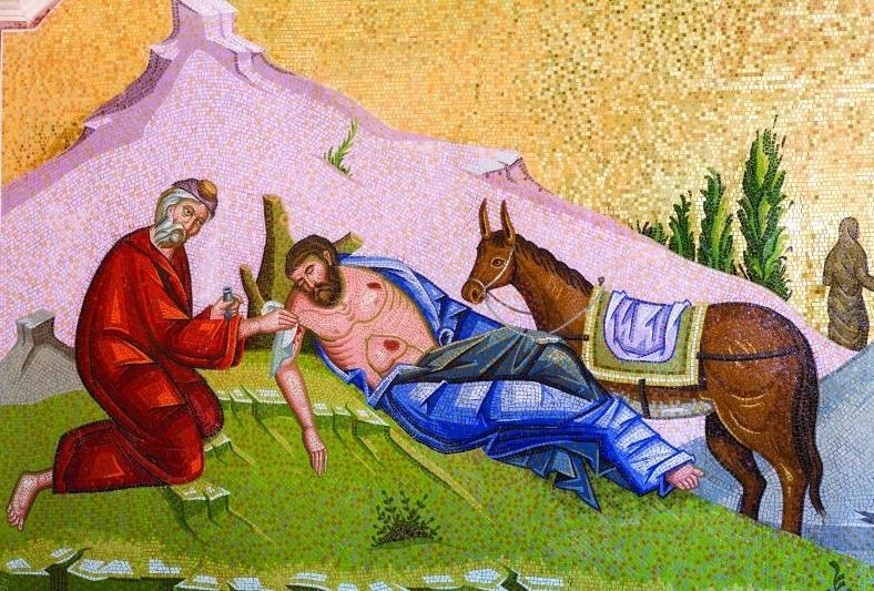 Бог являет Себя в бедных и в странниках