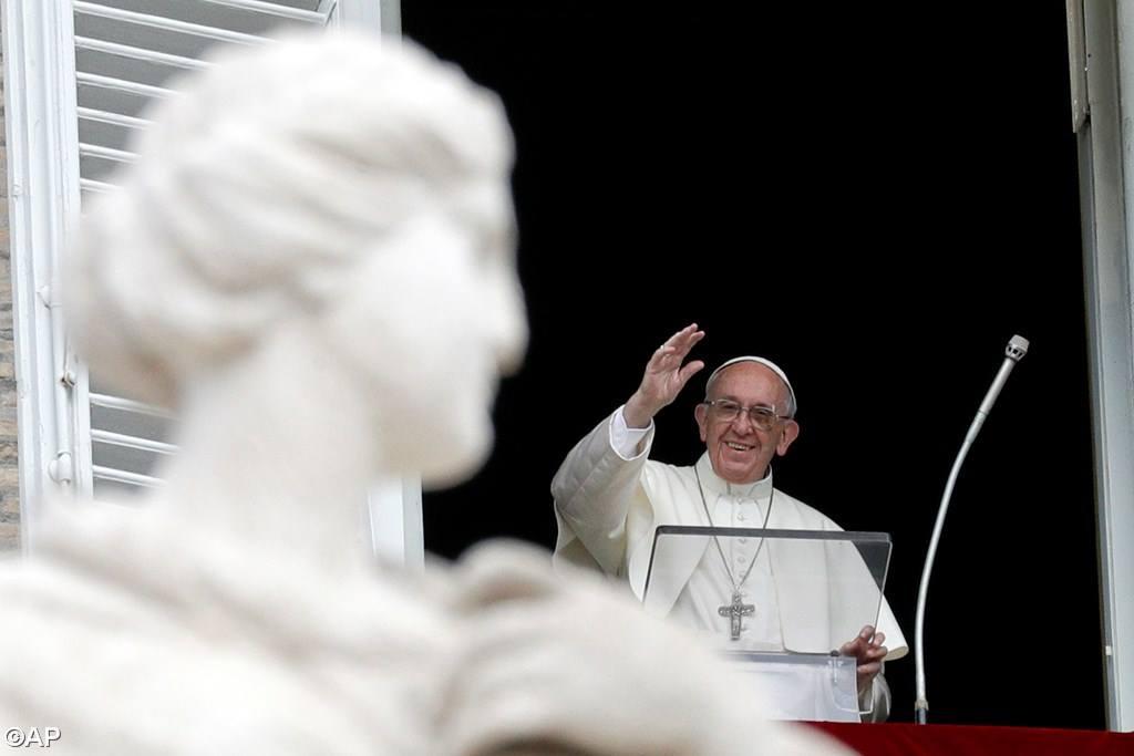 Слово Папы Франциска перед молитвой «Ангел Господень» в 24-е Рядовое воскресенье. 17 сентября, площадь Св. Петра