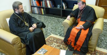 Председатель ОВЦС встретился с председателем Папского совета по содействию христианскому единству