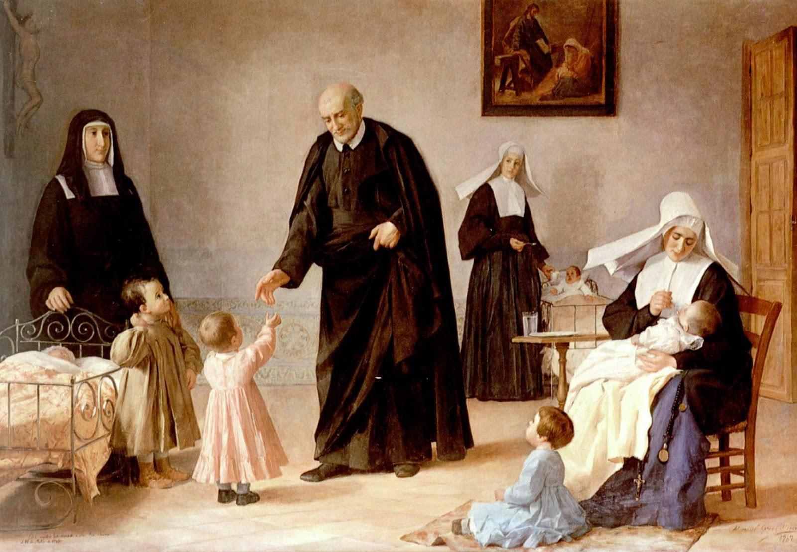 Папа: святой Викентий де Поль продолжает говорить с Церковью