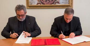 Подписано соглашение между Секретариатом по коммуникации и Обществом Иисусовым