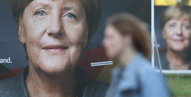 Партия Ангелы Меркель победила на выборах в бундестаг (+ ФОТО)