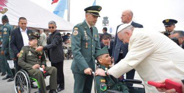 Папа — военным и полицейским: спасибо за то, что вы делаете для мира
