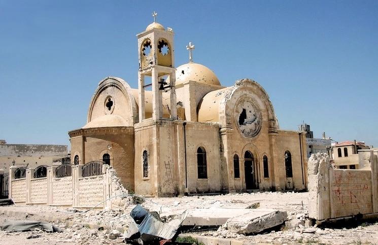 Католики вместе с православными восстановят христианские церкви в Сирии