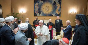 Папа принял делегацию Всемирной конференции «Религии за мир»