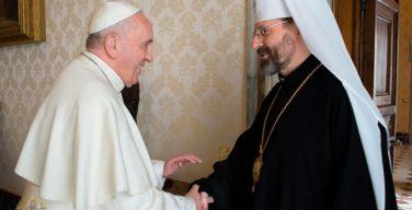 Глава УГКЦ — Папе Франциску: «Украина ждет Вас»