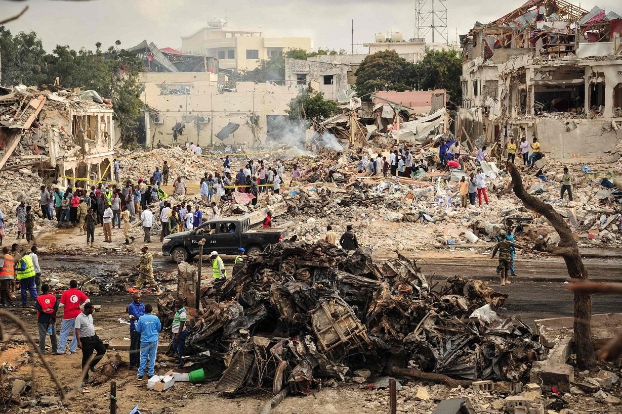 Жертвами теракта в Сомали стали 276 человек, около 300 ранены