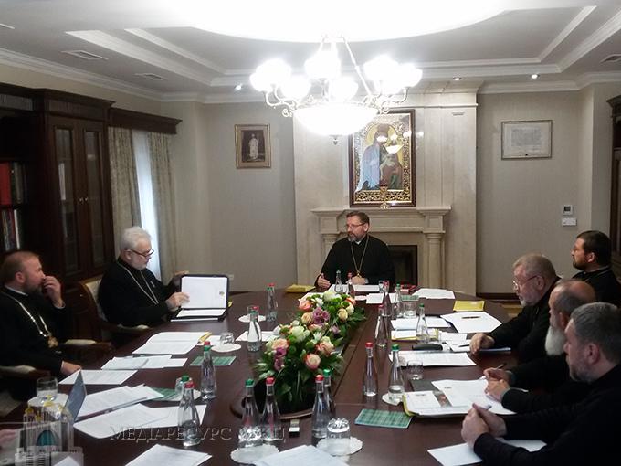 Вторая сессия Синода епископов Киево-Галицкой митрополии УГКЦ состоялась в Киеве
