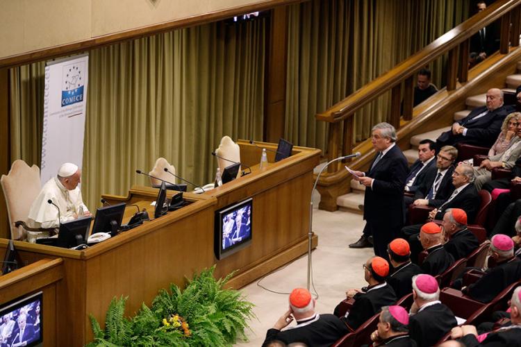 Папа: христиане должны вернуть душу Европе