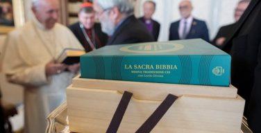 Папа принял делегацию Объединённых библейских обществ