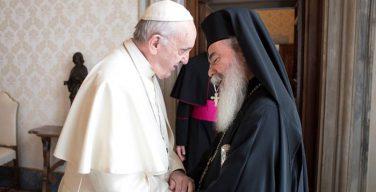 Папа Франциск встретился с Патриархом Феофилом III