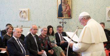 Папа — делегации Тель-Авивского университета: воспитывать лидеров, внимательных к великим этическим вопросам
