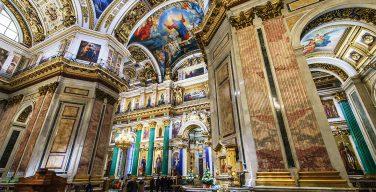 В Исаакиевском соборе отреставрируют монументальную живопись на евангельские сюжеты