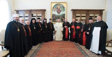 Папа – Патриархам и Верховным архиепископам Восточных Церквей: коллегиальность неразрывно связана с первенством Петра