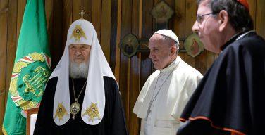 Патриарх Кирилл рассказал об итогах встречи с Папой Франциском