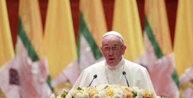 Папа — властям Мьянмы: будущее страны должно быть мирным (+ ФОТО)