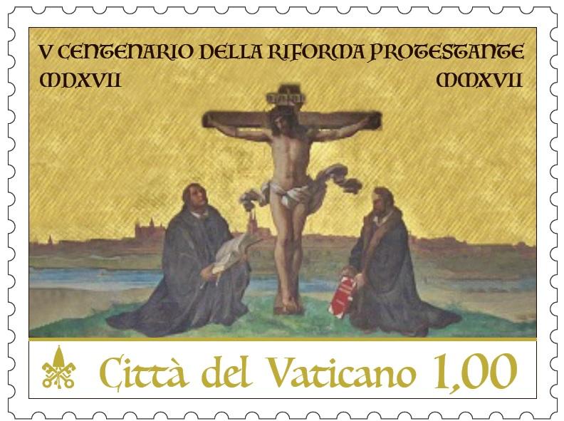 Ватикан выпустил почтовую марку, посвященную 500-летию Реформации